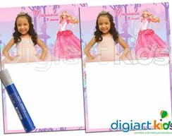 Quadro m�gico Barbie