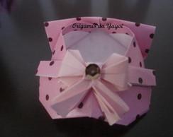 Sapatinhos de origami