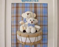 Porta de maternidade urso no tambor