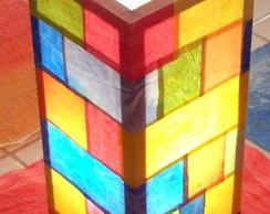 Lumin�ria Aquarela Mosaico horizontal 13