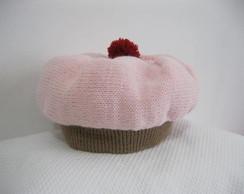 Touca cupcake morango
