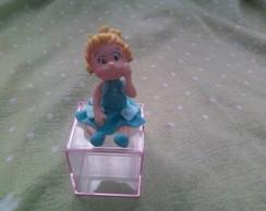 Lembrancinha princesas baby  na caxinha