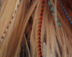 Penas para cabelo Feather hair extensios