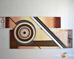 "Painel em Mosaico ""Abstract"""