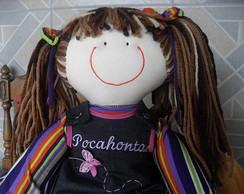 Boneca de pano Pocahontas