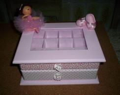 caixa de bijou de bailarina