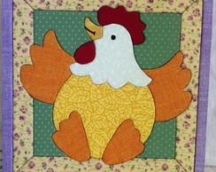 Quadro galinha