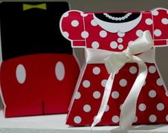 Caixinhas Mickey e Minnie