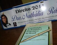 Placa de Formatura Dra.Nath�lia Reis