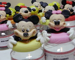 Pote papinha decorado - Disney