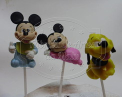 Palitos de decora��o Baby Disney