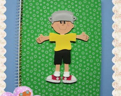 Caderno Menino Maluquinho