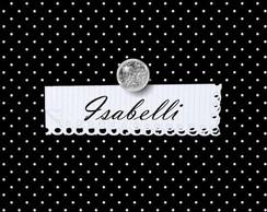 Convite de anivers�rio Isabelli
