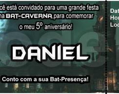 Convite Ingresso - Batman - Modelo03