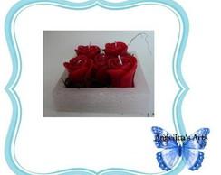 Vela Conjunto de Rosas