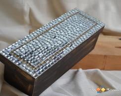 Caixa em Mosaico para Mini Espumante