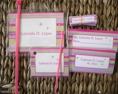 Kit Etiquetas e Tags: Listra Iliana