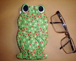porta oculos Frog