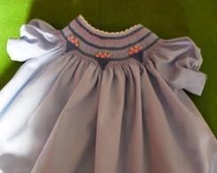 Vestido de Beb� 'Pedacinho do C�u'