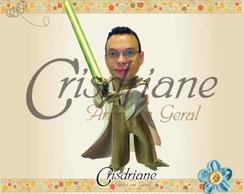 �m� PErsonalizado Star Wars Yoda