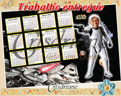 Foto calendario Star Wars divertido