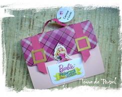 Convite Barbie Escola de Princesas + TAG