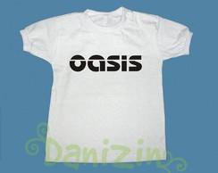 T-Shirt Beb� e Infantil OASIS