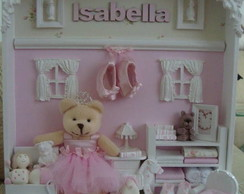 Princesa com sapatilha Isabella