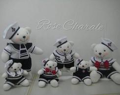Ursos Marinheiros de 25 cm
