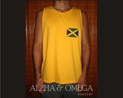 Regata Reggae Jamaica Style AMARELA