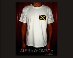T-Shirt Reggae Jamaica Style BRANCA