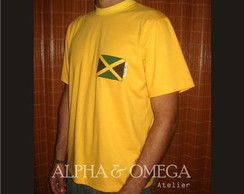 T-shirt Reggae Jamaica Style AMARELA