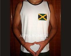 Regata Reggae Jamaica Style BRANCA