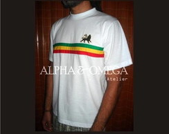 Camiseta T-Shirt Reggae Roots BRANCA
