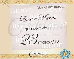 Save The date Livia