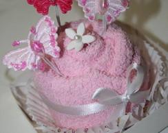 Cupcake Rosa Chique