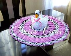 Toalhinha de Croch� - Cisne