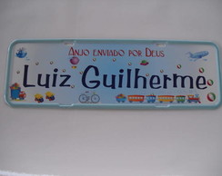 PLACA LUIZ GUILHERME