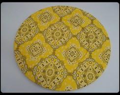 Sousplat Amarelo - Encomenda Entregue