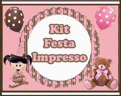 Kit Festa Impresso - Guloseimas