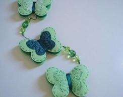 M�bile de borboletas - verde