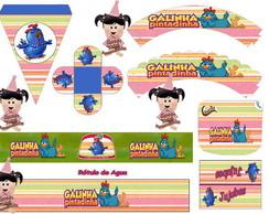 Kit Impresso - Galinha Pintadinha
