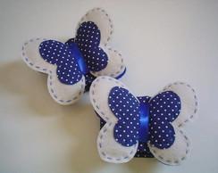 Prendedores de cortina - borboleta azul