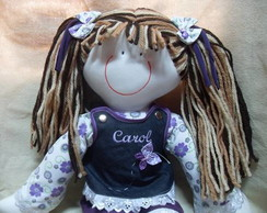 Boneca de Pano - Carol