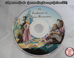 CD ou DVD impress�o na m�dia
