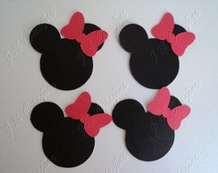 Aplique Minnie ou Mickey