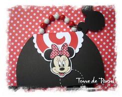 Convite Minnie Lollipop