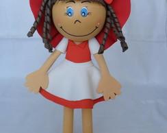 Boneca Amanda #D em EVA