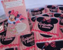 Convite Minnie Popup