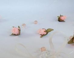 Fio de cortina rosas